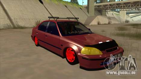 Honda Civic V2 BKModifiye für GTA San Andreas linke Ansicht