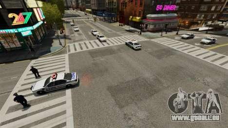 Plus de policiers pour GTA 4