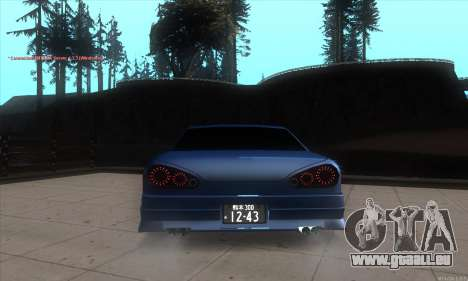 Elegy awesome D.edition pour GTA San Andreas sur la vue arrière gauche