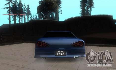 Elegy awesome D.edition für GTA San Andreas zurück linke Ansicht