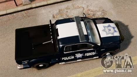 Ford F-150 De La Policia Federal [ELS & EPM] v2 für GTA 4 rechte Ansicht