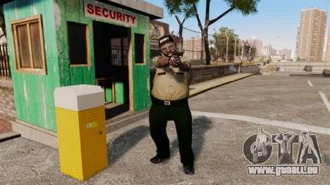 Polizei-Wachen für GTA 4 Sekunden Bildschirm