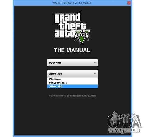 GTA 5 GTA v: Le manuel : le plan de l'espace interacti huitième capture d'écran