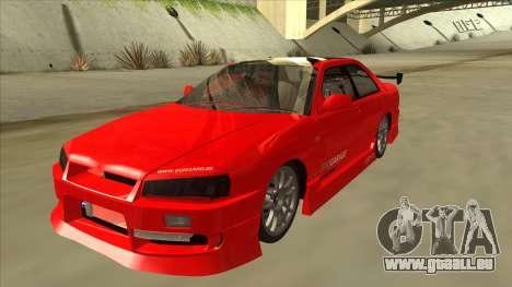 Nissan Skyline ER34 JDMGarage für GTA San Andreas