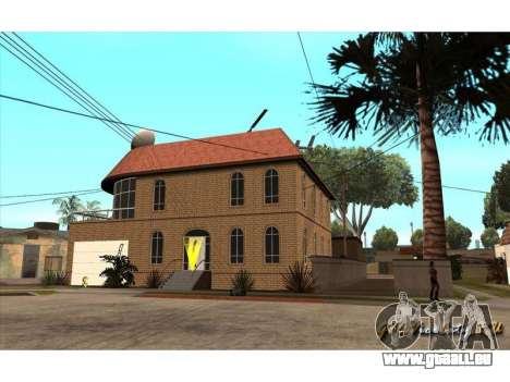 New CJ House für GTA San Andreas