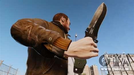Couteau tactique v3 pour GTA 4 troisième écran