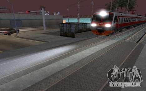 Train light für GTA San Andreas