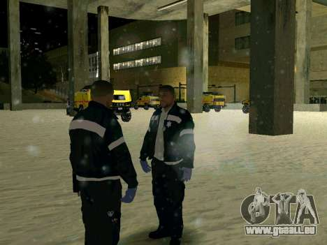 Erneuerung des Krankenhauses in San Fierro für GTA San Andreas dritten Screenshot