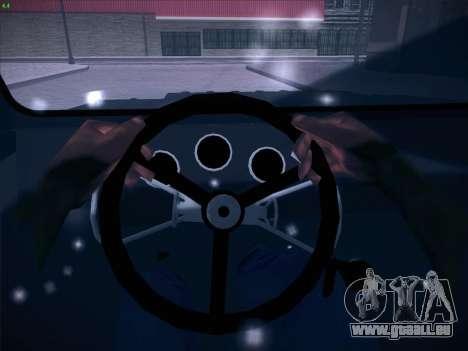 SeAZ-3D pour GTA San Andreas vue de dessous