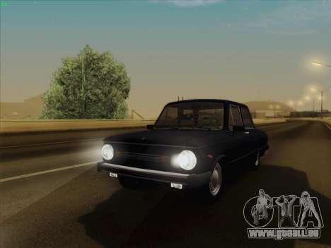 ZAZ 968 pour GTA San Andreas sur la vue arrière gauche