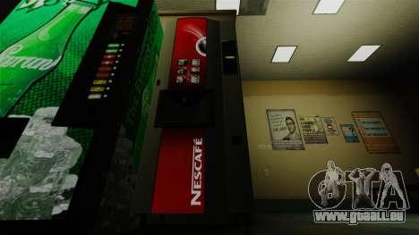 Der Office-Automat Nescafe für GTA 4 Sekunden Bildschirm