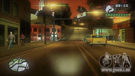 GTA HD Mod pour GTA San Andreas quatrième écran