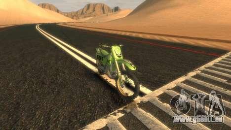 KX 500 für GTA 4 linke Ansicht