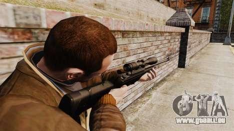 Scharfschützengewehr Sako TRG-42 für GTA 4 dritte Screenshot