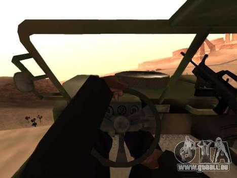 FAV aus Battlefield 2 für GTA San Andreas rechten Ansicht