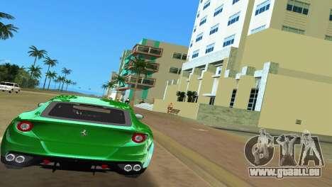 Ferrari FF 2011 für GTA Vice City rechten Ansicht