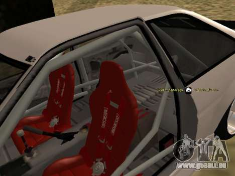Toyota Corrola GTS JDM für GTA San Andreas Seitenansicht