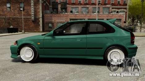 Honda Civic Al Sana pour GTA 4 est une gauche