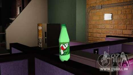 La nouvelle bouteille de fizzy drink 7UP pour GTA 4 secondes d'écran