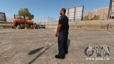 Une garde-robe mise à jour pour la police pour GTA 4 secondes d'écran