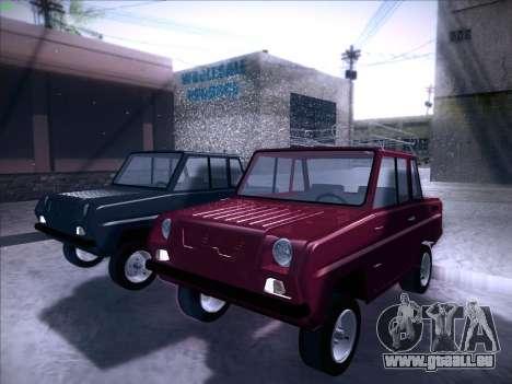 Serpuchowski Awtomobilny Sawod-3D für GTA San Andreas rechten Ansicht
