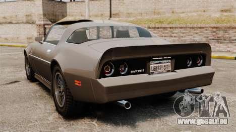 Imponte Phoenix 455 RS für GTA 4 hinten links Ansicht