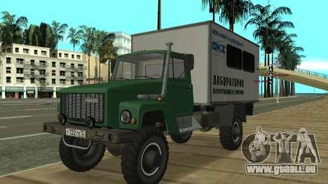 Avtolaboratoriâ GAZ 3309 Sadko pour GTA San Andreas