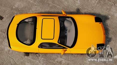 Mazda RX-7 FD3S pour GTA 4 est un droit