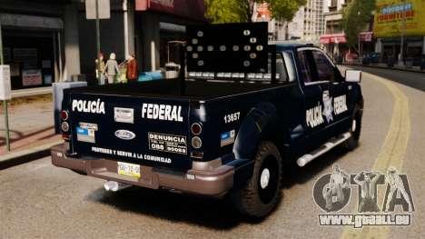 Ford F-150 De La Policia Federal [ELS & EPM] v2 pour GTA 4 Vue arrière de la gauche