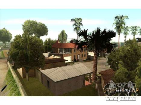 New CJ House für GTA San Andreas dritten Screenshot
