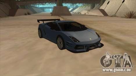 Lamborghini Gallardo LP560-4 Tuned pour GTA San Andreas vue arrière