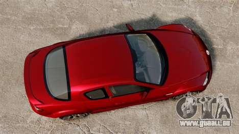 Mazda RX-8 R3 2011 pour GTA 4 est un droit