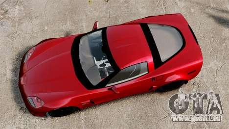 Chevrolet Corvette Z06 pour GTA 4 est un droit