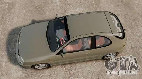 Daewoo Lanos Sport PL 2000 pour GTA 4 est un droit