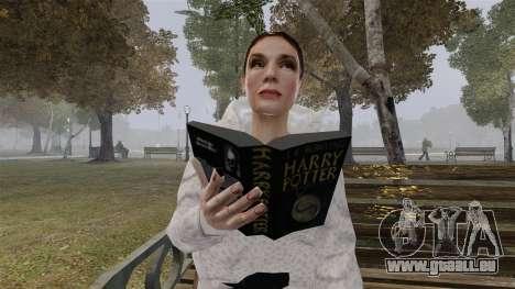 Le livre de Harry Potter pour GTA 4 secondes d'écran