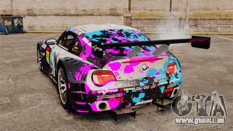 BMW Z4 M Coupe GT Miku pour GTA 4 est un droit