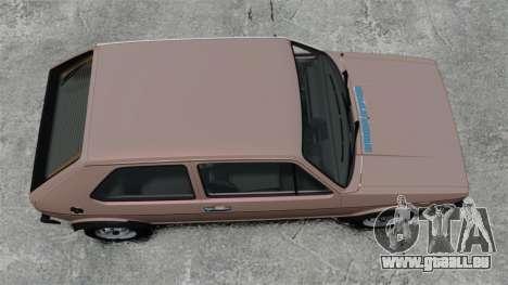 Volkswagen Golf MK1 GTI für GTA 4 rechte Ansicht