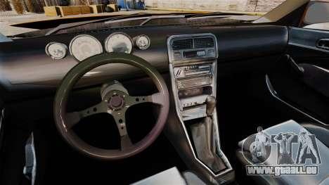 Honda Civic Gtaciyiz 2 für GTA 4 Rückansicht