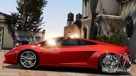 Lamborghini Gallardo LP560-4 [Final] v1 pour GTA 4 est une gauche