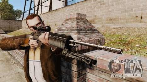 M21 sniper rifle v2 pour GTA 4 troisième écran