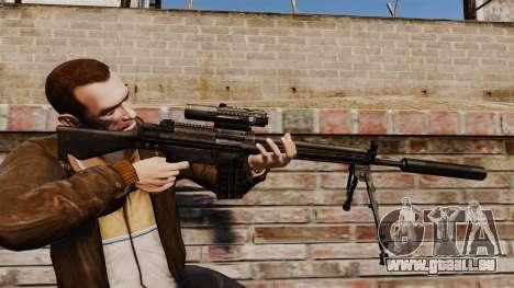 HK G3SG1 sniper rifle v1 pour GTA 4