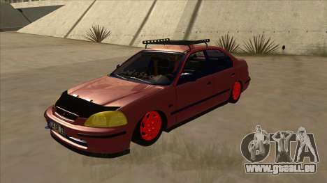 Honda Civic V2 BKModifiye pour GTA San Andreas