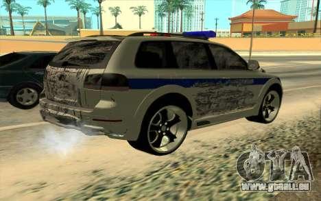 Volkswagen Touareg R50 für GTA San Andreas obere Ansicht