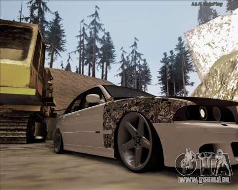 BMW M5 E39 Stanced pour GTA San Andreas laissé vue