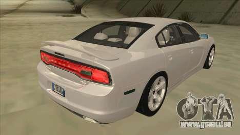 Dodge Charger RT 2011 V2.0 pour GTA San Andreas vue de droite