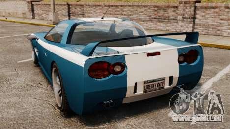 Coquette M pour GTA 4 Vue arrière de la gauche