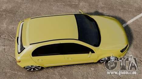 Volkswagen Gol G6 für GTA 4 rechte Ansicht