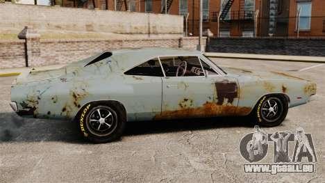 Dodge Charger RT 1969 rouillé v1.1 pour GTA 4 est une gauche