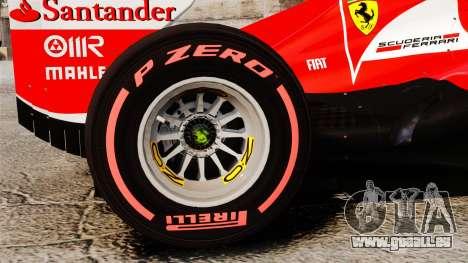 Ferrari F138 2013 v6 für GTA 4 Rückansicht