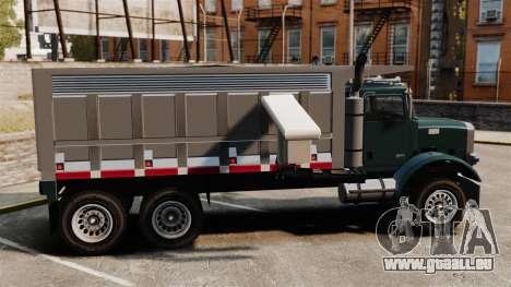 Nouveau camion Biff pour GTA 4 est une gauche